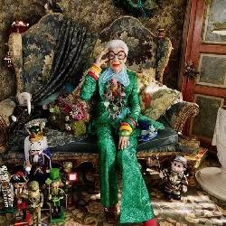 她96岁,还烈焰红唇,时尚动人,向世人示范什么是优雅地老去