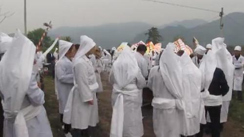 传统殡葬礼仪—成服