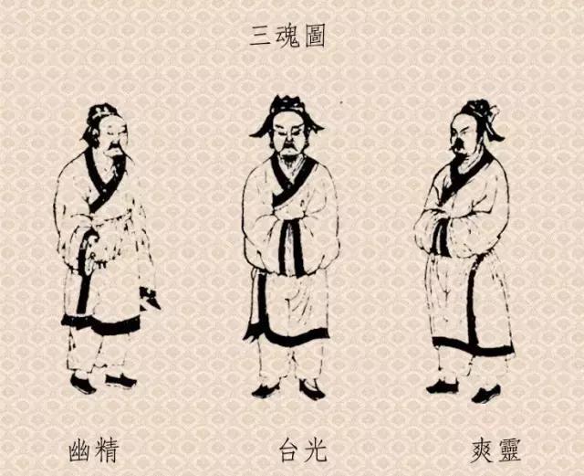 三魂七魄长什么样?
